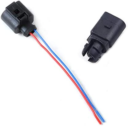 Citall Umgebungslufttemperatursensor Elektrischer 2 Pin Stecker Stecker Kabelbaum Auto