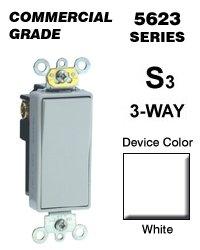 Leviton Light Switch, Decora Plus Rocker Switch, Commercial