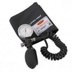 Accoson dúplex Tensiómetro aneroide y amplia gama muñequera con cierre de velcro (0329)