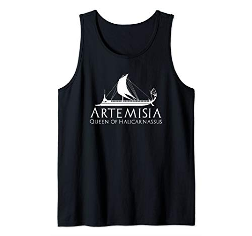 Women In Greek History - Artemisia Queen Of Halicarnassus Tank Top