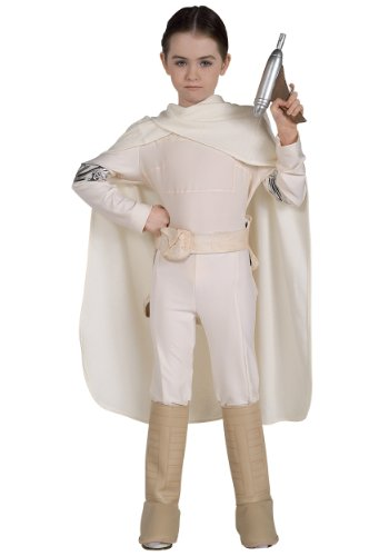 Deluxe Padme Amidala Child Costume - Medium - Deluxe Kids Angelica Costumes