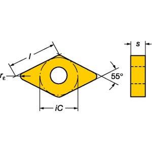 PART NO. SVK32430 DNMG 432-PM 4225 Sandvik, Carbide T-Max P Negative Turning Insert by Sandvik Coromant