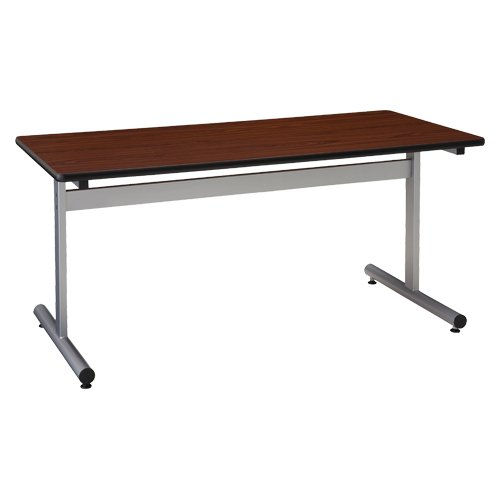 ナカバヤシ ミーティングテーブル/粉体塗装脚/ローズ SMT1590F-R B007NFUTMY