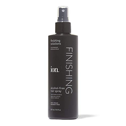 Alcohol Free Spray Hair - Ion Alcohol-Free Finishing Hair Spray, 8oz