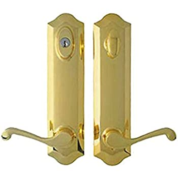 Peachtree Prado Brass Hardware For French And Hinged Swinger Patio