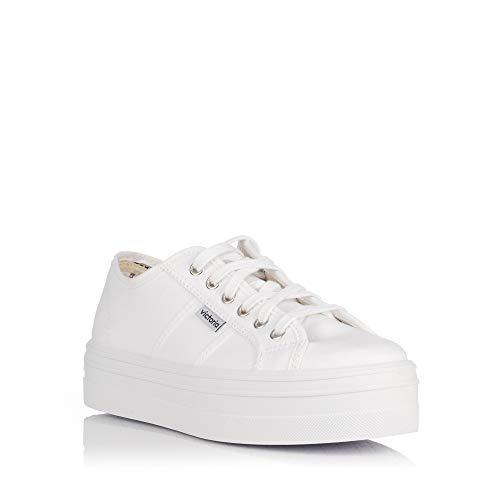 Bianco Blucher Donna Victoria Lona Stivali Da 8d4x4wqXT