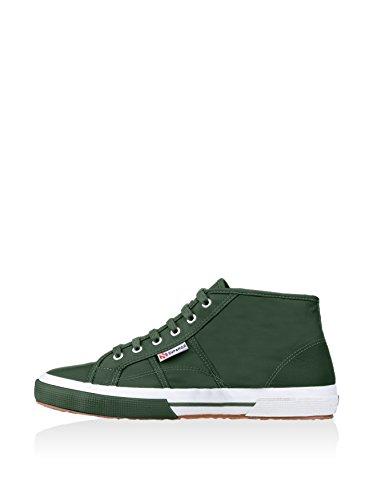 Superga 2754-pluslnylu - Zapatillas abotinadas Unisex adulto Verde