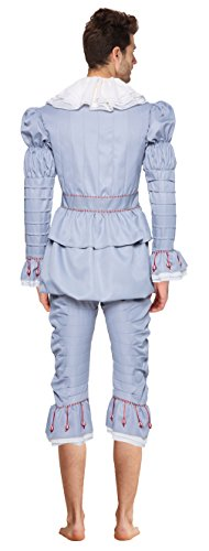 Women's Halloween Clown Cosplay Costumes Pennywise Costplay Outfit, M by Quintion Anneao (Image #1)