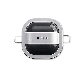 Niessen - Detector presencia techo mini knx 8m plata: Amazon.es: Bricolaje y herramientas