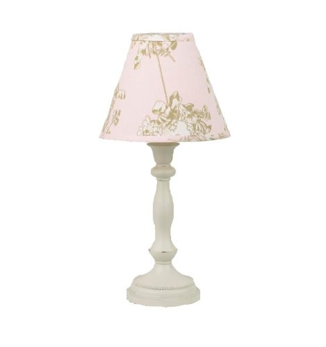 Cotton tale designs Standard Lamp and Shade, Lollipops and Roses (Girl Standard Lamp Shade)