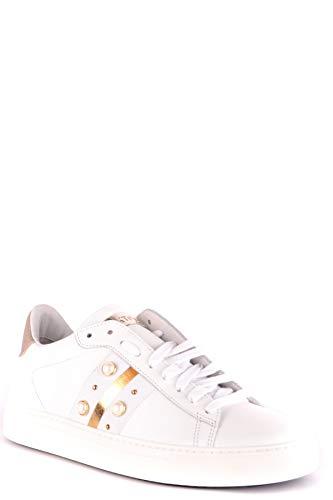 in bianca Woman Stokton pelle Sneakers Mcbi35048 qAxYqH86