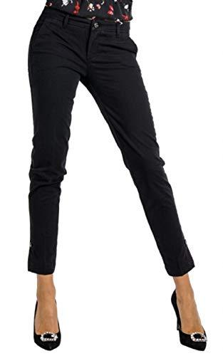 W W68321t6468 Jo Chic Donna Nero Mod Pantalone Reg Liu Chino q8fnwXTdd