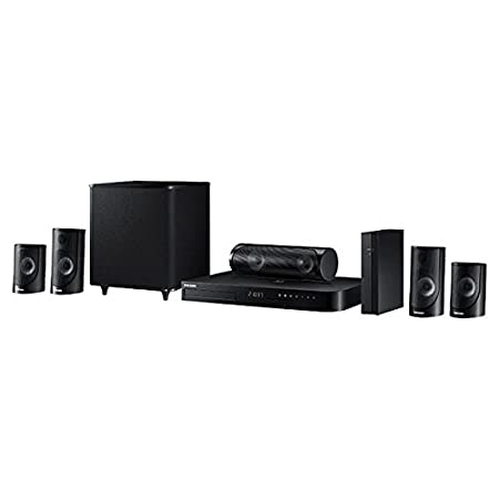 8b29fe898 Amazon.com  Samsung HT-J5500W 5.1 Channel 1000-Watt 3D Blu-Ray Home Theater  System (2015 Model)  Electronics