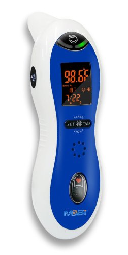 MOBI ULTRA PULSE Talking Ear & Forehead Thermometer with