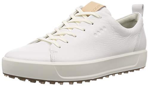 ECCO Men's Soft Hydromax Golf Shoe, Bright White, 9 M US