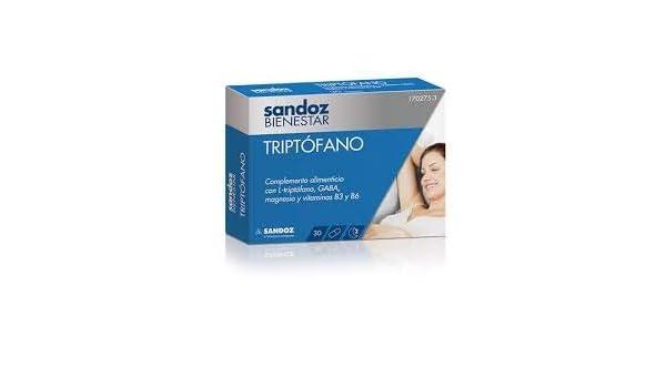 SANDOZ BIENESTAR TRIPTOFANO 30 CAP: Amazon.es: Salud y cuidado ...