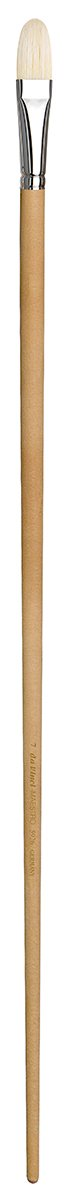 da Vinci Mural Series 5926 Maestro 2 Paint Brush, Filbert Hog Bristle with 24-Inch Handle, Size 7 (5926-7)