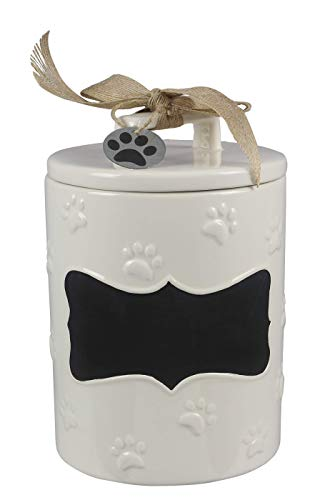 - youngs Inc Ceramic Dog Treat Jar, Multi