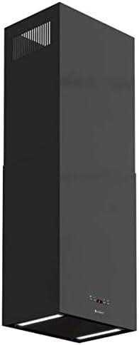 Insel Globalo - Campana extractora (725 m3/h, LED, 40 x 30 cm, 51 dB), color negro: Amazon.es: Grandes electrodomésticos