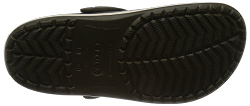 Crocs Ladies Crocband U Muli, Marrone Verde (verde Scuro Camo / Stucco)