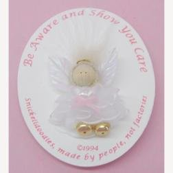Breast Cancer Awareness Angel Pin -