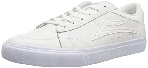 Lakai Unisex-Adult Ellis White Leather