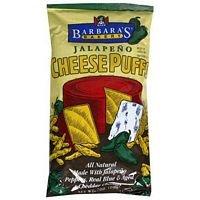 Barbaras Cheese Puff Jalpeno