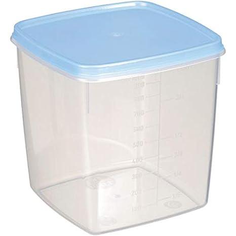 Mira plast TK 3/2 Congelador latas de Juego, 1 L, 2 piezas ...