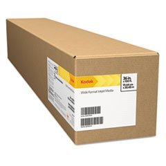 Professional Inkjet Photo Paper Roll, Glossy, 10.9 Mil, 60'' X 100 Ft, White By: Kodak by Office Realm