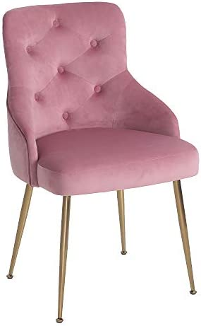 FCQuality Velvet Vanity Chair