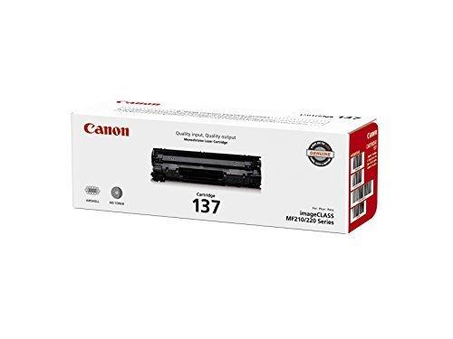 2 X Canon Original 137 Toner Cartridge - Black