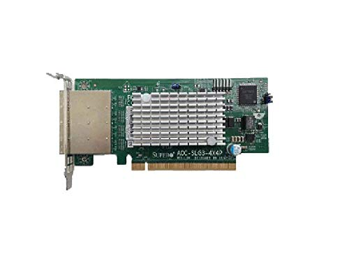 Supermicro AOC-SLG3-4X4P PCI-Ex16, Low profile 4x external port NVMe PLX switch