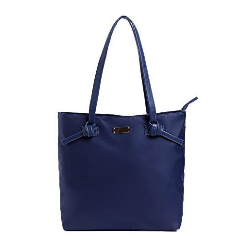 BEKILOLE Overnight Bag for Women Nylon Tote Bag | Fits 15.6