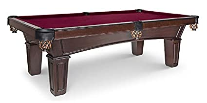 Fantastic Olhausen Billiards 8 Ft Belmont Pool Table Matte Original Cherry Finish Includes Delivery Installation Cues Balls And Accessories Choice Of Home Remodeling Inspirations Propsscottssportslandcom