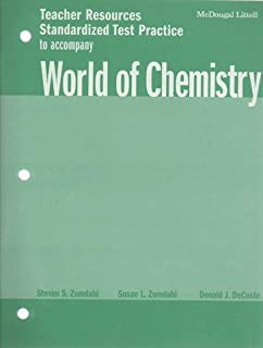 World of Chemistry: Teacher Resources, Chapter Review Worksheets ...
