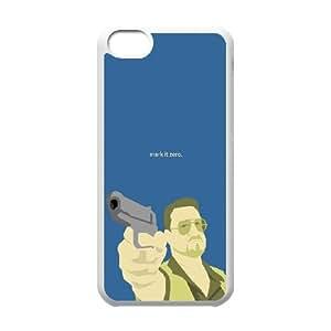 iPhone 5c Cell Phone Case White Make It Zero Phiio