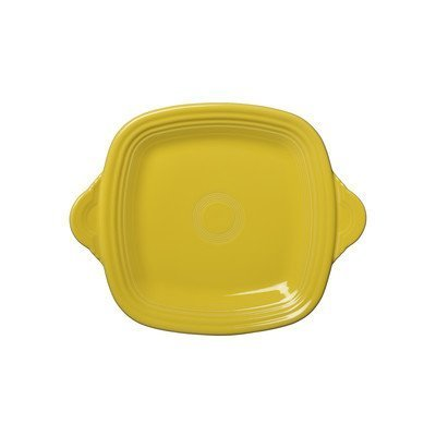 Square Serving Tray Color: Sunflower - Fiesta Serving Tray
