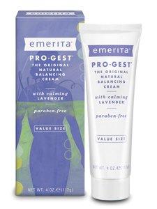 Pro Gest Body Cream (Emerita, Pro-Gest Cream,Lavender 4 Oz Ea)