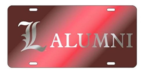 Cardinals Red Laser - LOUISVILLE CARDINALS Laser Cut Inlaid Acrylic Red Plate w/L Alumni