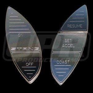 UPR 1994-2004 Mustang Billet Designer Cruise Control Button Kit