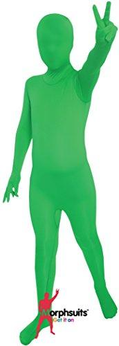 [Kids Green Morphsuit - Small] (Full Body Morphsuit)