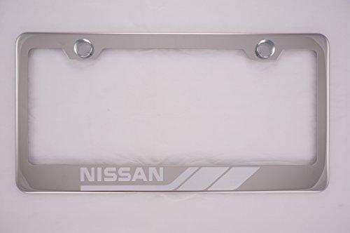 license plate frame nissan leaf - 2