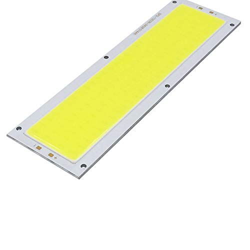 Yu2d  New 12V-24V 1000LM 10W COB LED Strip Light High Power Lamp Chip Warm/Cool -