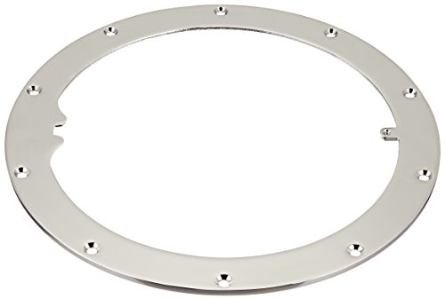 - Pentair 79200200 10-Hole Standard Liner Sealing Ring Replacement Large Stainless Steel Niches