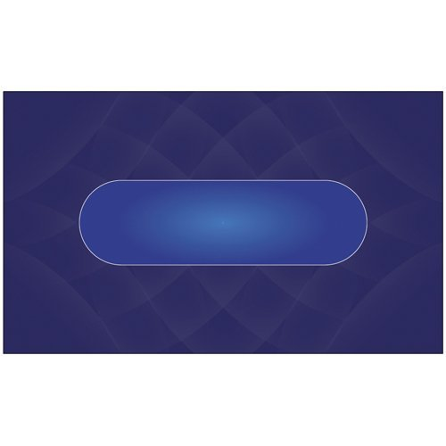 Brybelly Sublimation Poker Table Felt for Casino Quality Tables ( Color:Blue) by Brybelly by Brybelly