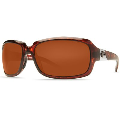 Costa Del Mar Isabela Polarized Sunglasses, Tortoise, Copper 580P, Outdoor Stuffs