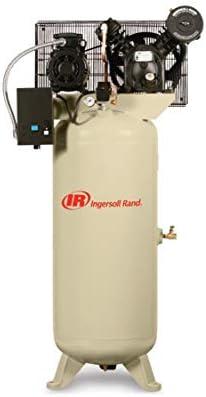 [해외]Ingersoll Rand HP 2 Stage Reciprocating Compressor 2사용자 / 2340L5-V 5hp 60 gal Two-Stage Compressor (2303)