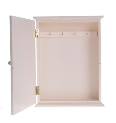 Oro Home is Wherever I m with You Charming House Design in Legno Stile Shabby Chic Key Storage Box