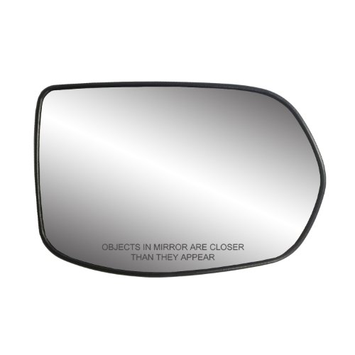 Fit System 30217 Honda CR-V Right Side Heated Power Replacement Mirror Glass with Backing ()