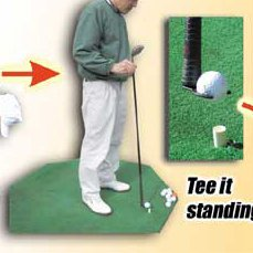 Jump Teefork Driving Range Golf Tee It Up Aid & Accurate ...